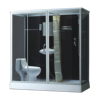 Qualified sliding door big WC shower cabin from China