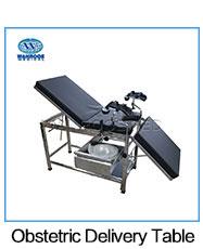 A-S105A Krankenhaus Ausrüstungen Geburtshilfe Gynäkologie Prüfung Stuhl Birthing Lieferung Tisch