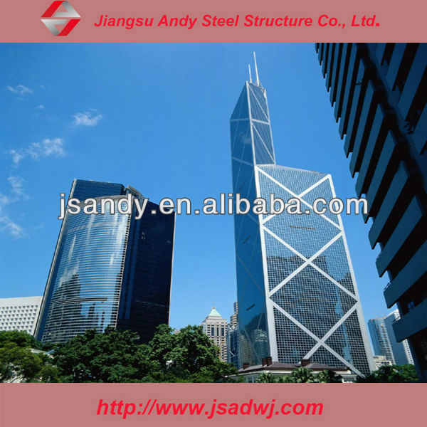 Andy Tempered Laminated Solar Glass Curtain Wall