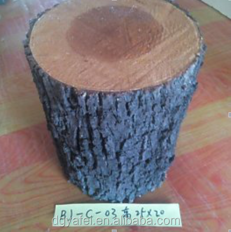 Customized artificial decorative tree stump China artificial round stumps