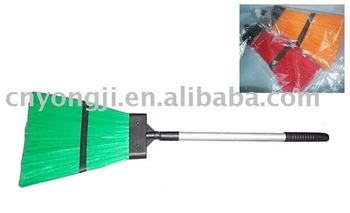 telescopic aluminum handle outdoor broom
