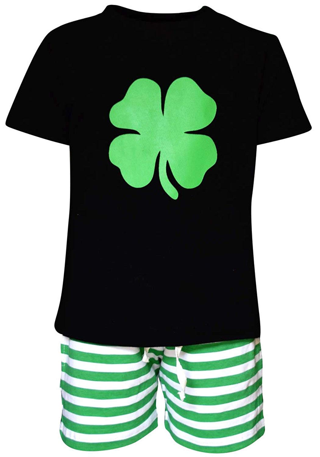 Unique Baby Boys 2 Piece St Patricks Day Clover Outfit
