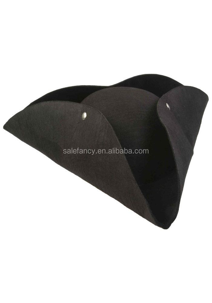 Deluxe Tricorn Pirate Hat Carnival Hat QHAT-2212