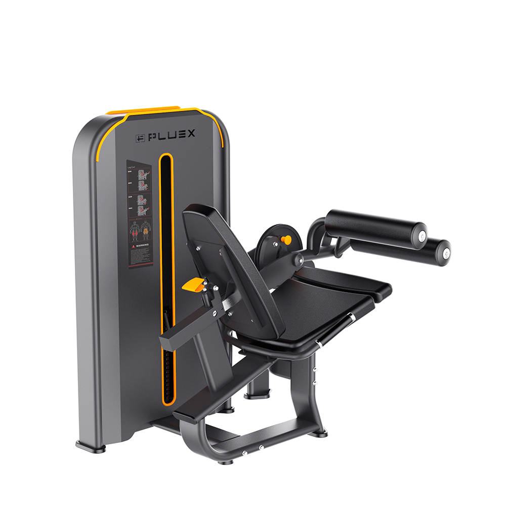 Body Building Dual Function Strength Training Machine Leg Extension Leg Curl