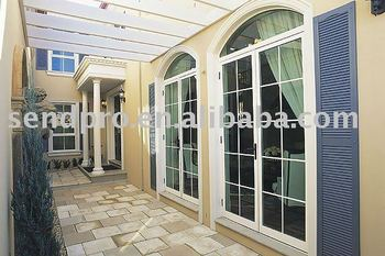 Soundproof aluminum balcony french doors exterior french - Soundproof french doors exterior ...