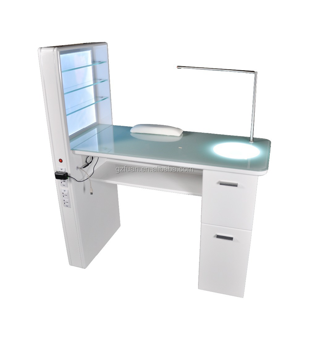 nail table with led nail table with led suppliers and at alibabacom - Manicure Table