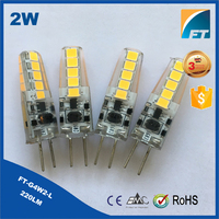 Low cost 2W G4 LED 12V Bulb Light
