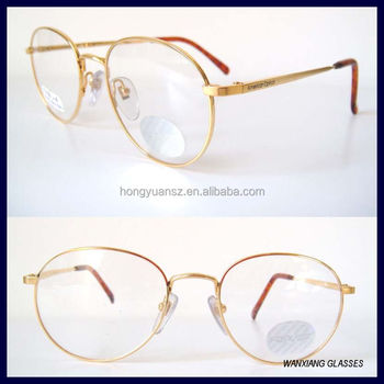 American Optical Round Gold Frames Eyeglass Spectacles Vintage Mens ...