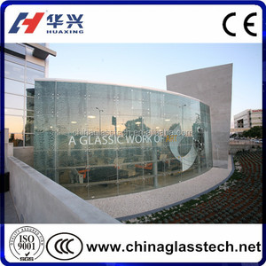 digital ceramic ink printed glass ,customised pattern art glass from China