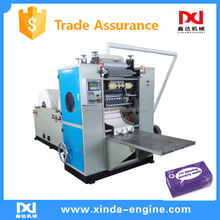 One by One Drawing tissue paper cutting and packing line