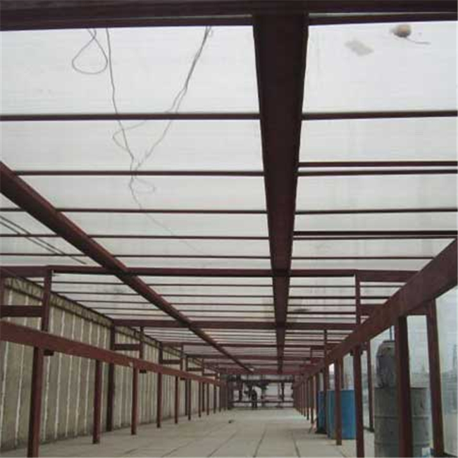 2017 New Building Material polycarbonate windproof awnings