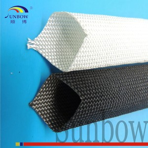 Insulation Sleeving Type and High Temperature Application white fiberglass sleeve