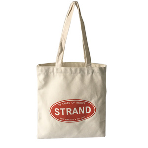Promotional Reusable Canvas Custom Logo Grocery 100% Cotton Tote Shopping bag