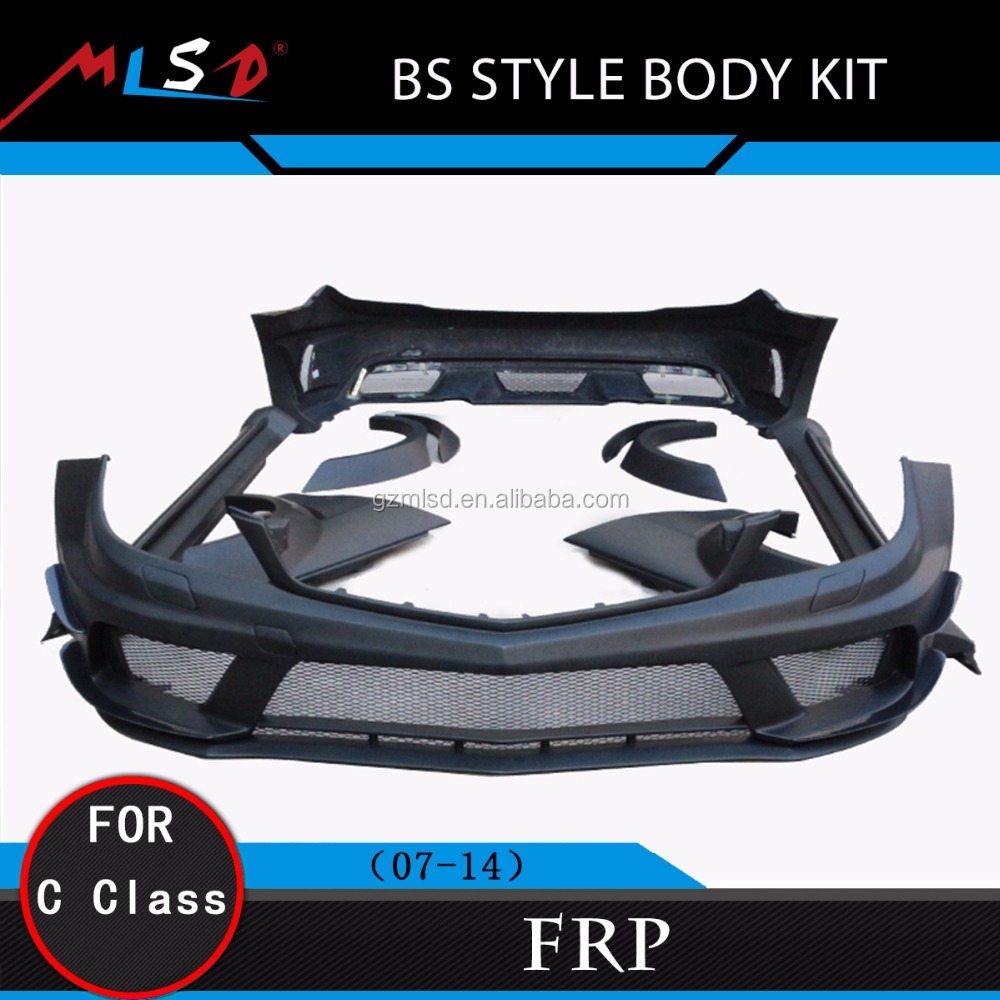 Car Cover High Quality Perfect Fitment BS Style Body Kit for Mercedes W204 C-Class 07-14
