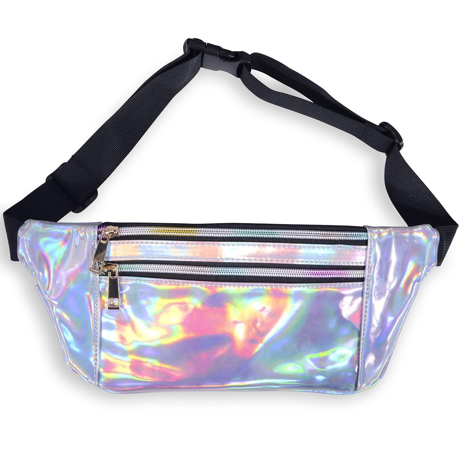 78d129b651a 2018 New Fanny Pack for Women - Holographic Fanny Pack Waist Belt Bum Chest  Sports Festival