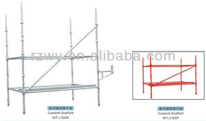 mobile aluminum scaffolding system for construction