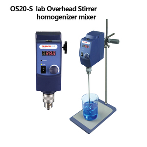 Strong Power Constant Speed Digital Control Vertical Lab Cosmetic electric Overhead Stirrer Mixer with impeller
