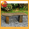 outdoor plastic and stone piano bench seats for garden furniture
