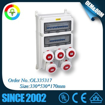 FZOLINK Top Outdoor IP67 Case Best Price 3 Phase Electrical Panel Box