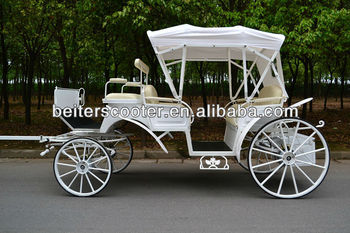2014 UK High quality victoria horse wedding carriage tour