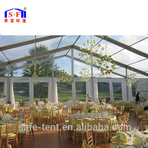 10x20m Aluminium Transparent Clear Roof Party Tent China