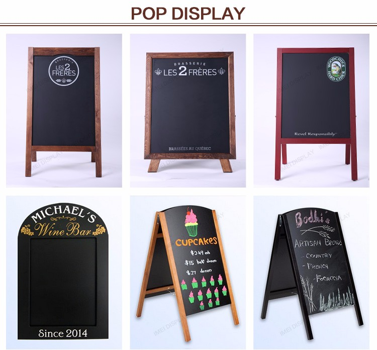 Dessert shop magnetic small decorative chalkboards for sale
