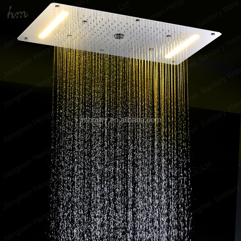 Wholesale hotel bathroom accessories led 380*700mm rainfall ...
