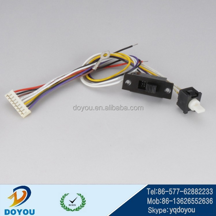 custom 2.0mm pitch wire to PCB board wire harness assembly