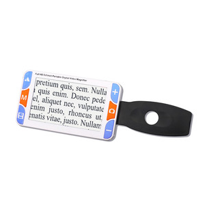 5 Inch Color LCD Screen Portable Low Vision Reading Aids Handheld Electronic Digital Video Magnifier