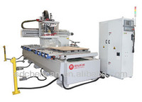 multiple functions woodworking CNC Router with Range Drill and HSD spindle/japan JASKAMA servo/SYNTEC control system