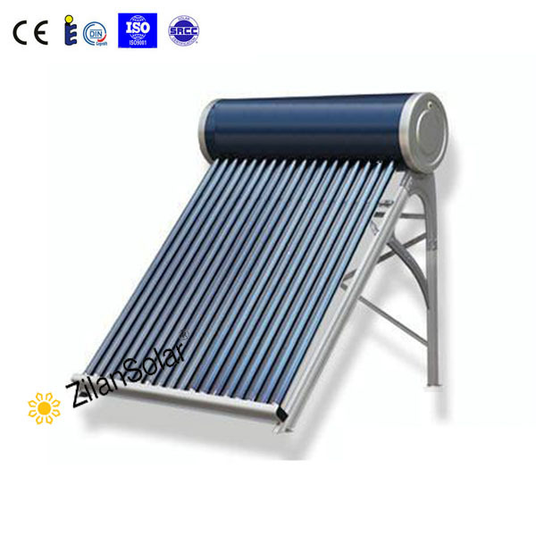 Solar Water Heater Collector 45 Frame Evacuated Vacuum Tubes SRCC Certified Hot