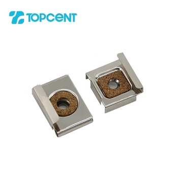 TOPCENT furniture fittings bathroom mirror holder glass shelf holding clamp clips