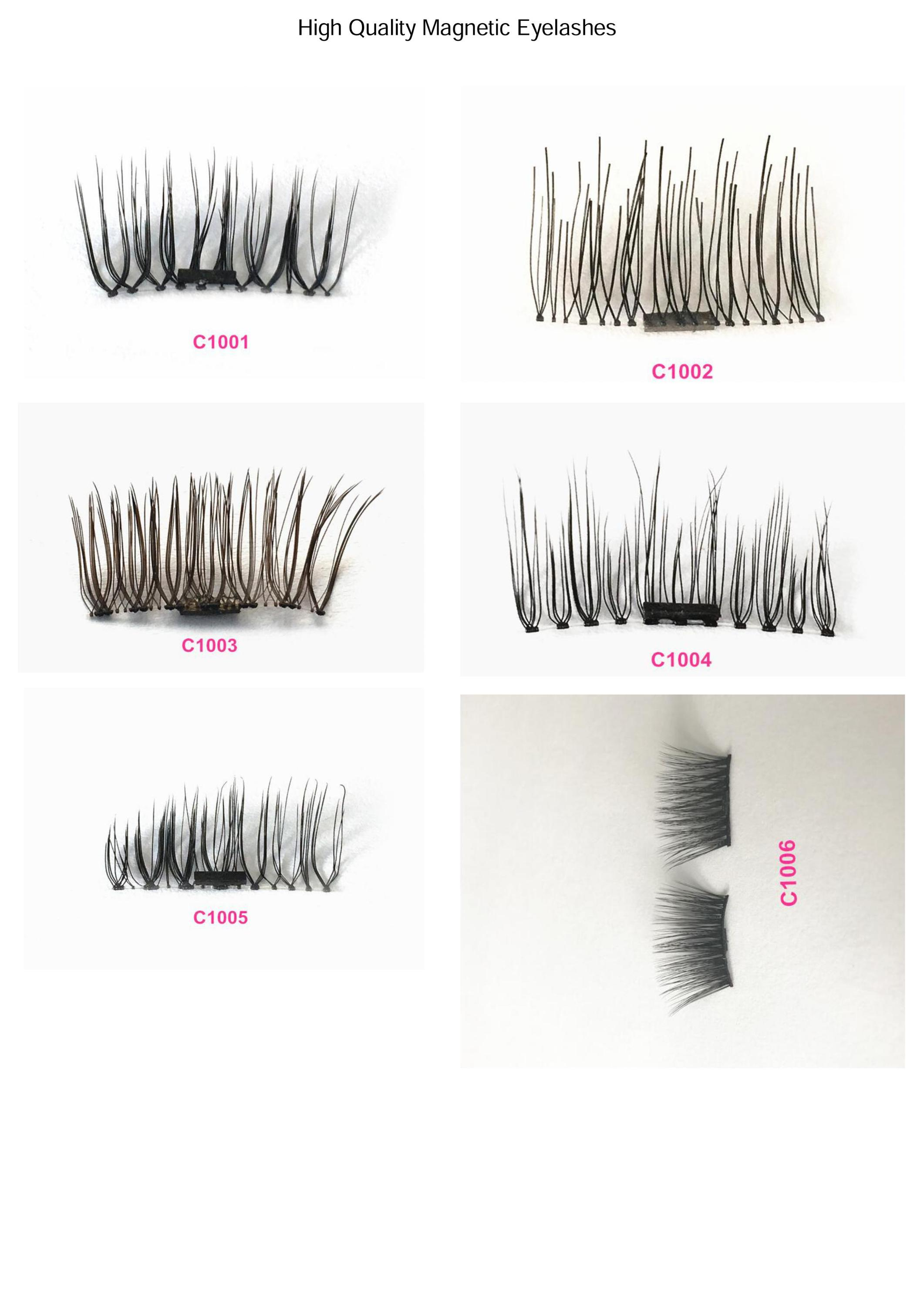Easy Application Magnetic False Lashes Stay Put Without Any Glue