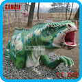 Amusement Park High Simulation Dinosaur head Decoration For Show