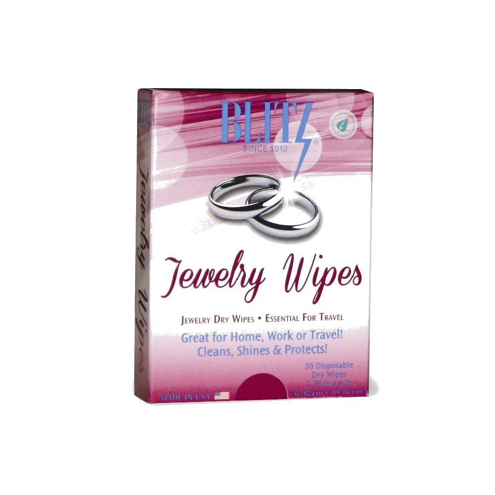 Blitz 2017 Disposable Polishing Cloths Jewelry Wipes