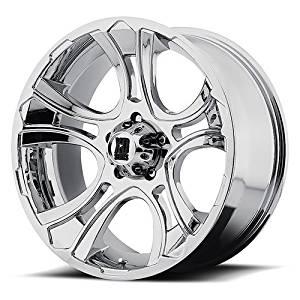 20 Inch 20x9 KMC XD SERIES wheels CRANK Chrome wheels rims