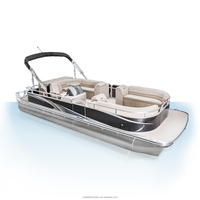 2 Person Pontoon Boat With Seats For Fishing