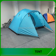 Family double layers 5-6 person camping tent for outdoor