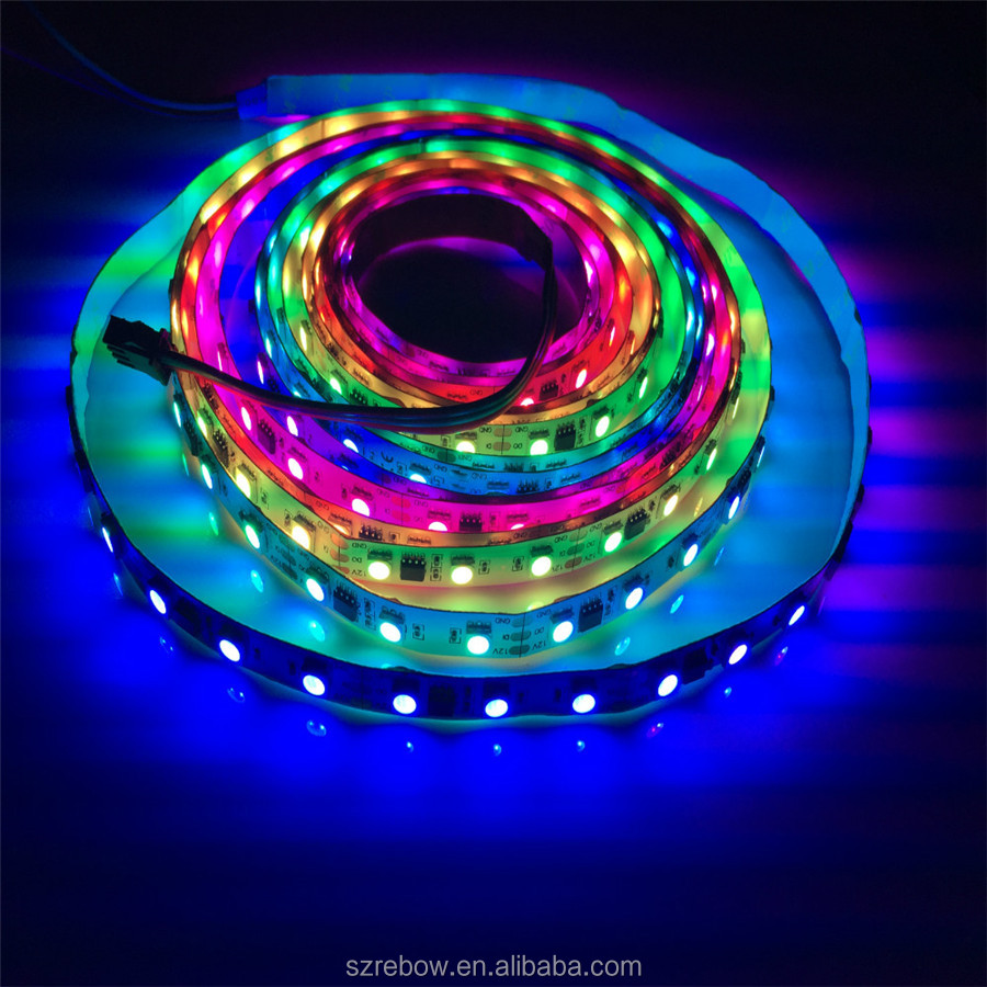 ws 2811 led strip ws 2812 rgb pixel lights smd5050 300leds 5m changeable color