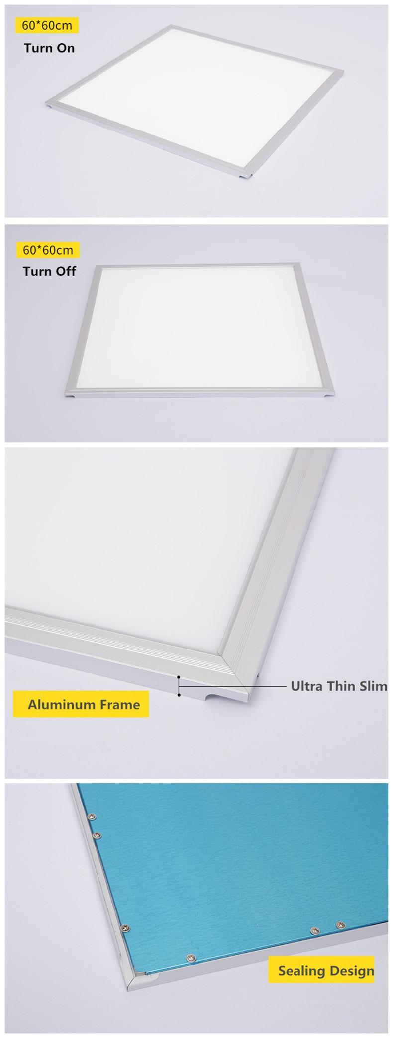 LED Deckenplatte Licht 2x2 40 w 600x600mm