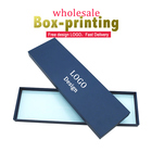 Wholesale custom bow ties box luxury hard cardboard gift packaging paper box