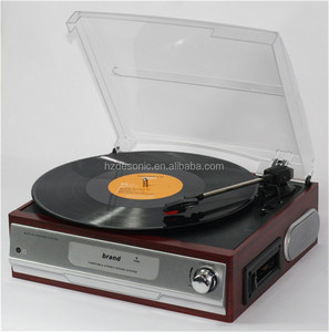 High quality vinyl cassette player with Headphone Jack