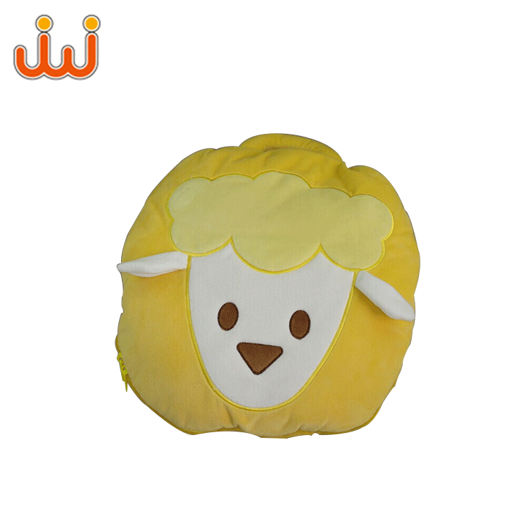 Hot Selling Children Animal Baby Comfortable Plush Face Pillow