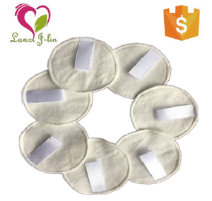 Washable Bamboo Cotton Makeup Remover Cloth Facial Cleansing Rounds Pads Reusable Makeup Removers