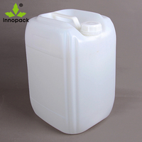 5L 10L 20L 25L plastic oil container /drum/barrel ,transparent hdpe jerry can for industry packing