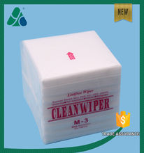 manufacture supplier viscose & polyester spunlace nonwoven wipes