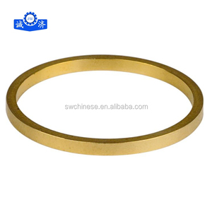 ISO9001 Custom-made CNC machining copper engineering crimp rings