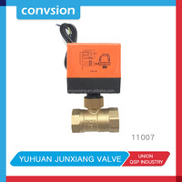Junxiang 11007 high quality brass one way and three way automatic control 3 inch solenoid valve