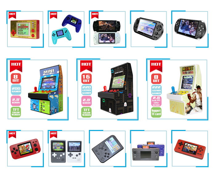 CT821A X7 Hot Item Retro 4.3 Inch Draagbare Handheld Mp3 Mp4 Mp5 Portatil Gaming Consola Game Video Console Box Speler videogames