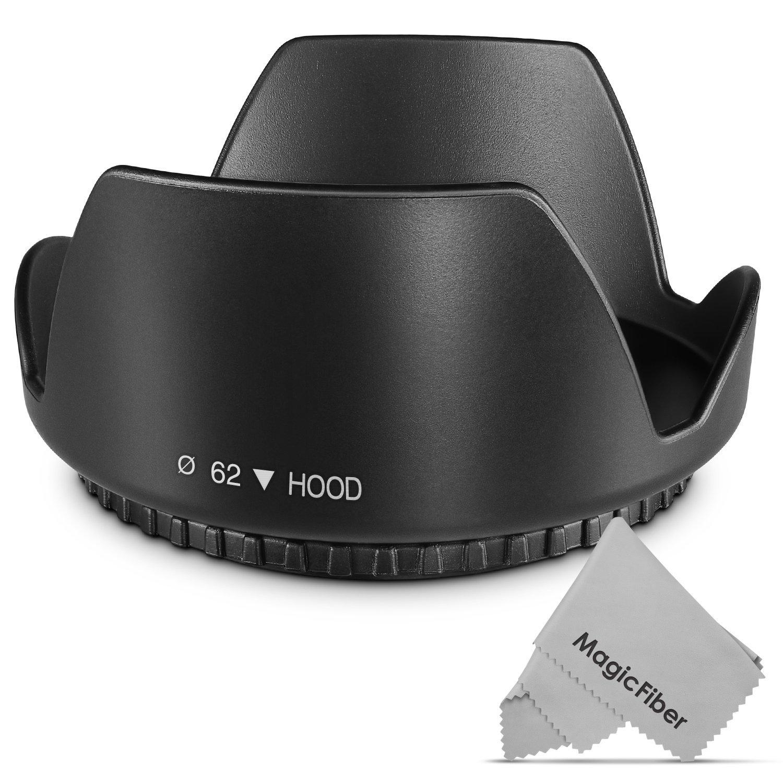Pixco 55mm Flower Lens Hood for Canon Nikon Sony Olympus Pentax Sigma Tamron